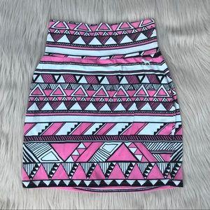 VS Pink bodycon skirt